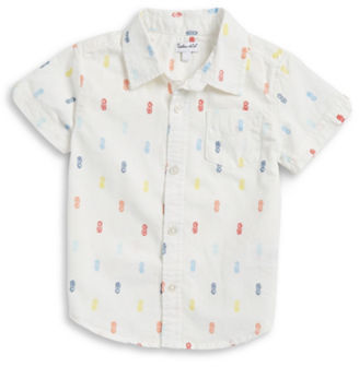 Splendid Baby Boys Short Sleeve Sportshirt $28 thestylecure.com