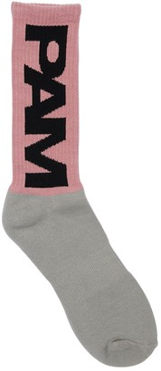 Perks And Mini Pam Pam Btc Unisex Cotton Blend Socks