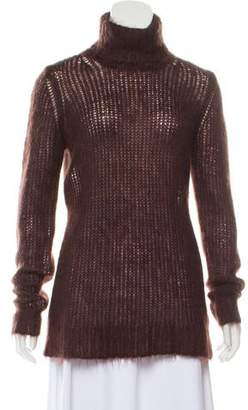 Michael Kors Lightweight Mohair-Blend Turtleneck