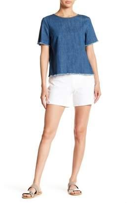 Hue Lace Trim Shorts