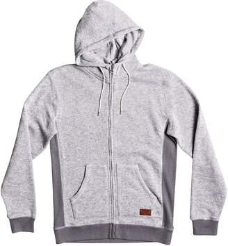 Quiksilver Men's  Keller Zip-Up Fleece Hoodie