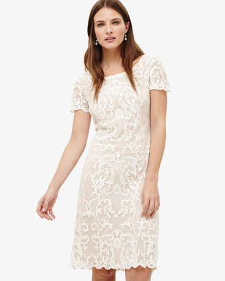 Phase Eight Tatiana Embroidered Dress