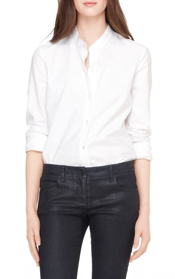 Francoise Cotton Stretch Shirt