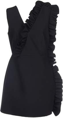 MSGM Fitted Ruffle Dress
