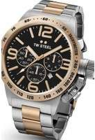 TW Steel Mens Canteen Chronograph 45mm Watch CB0133