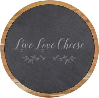 Cathy's Concepts Live Love Cheese Board & Utensil Set