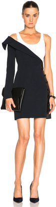 Mugler Fitted Cady Dress $1,835 thestylecure.com