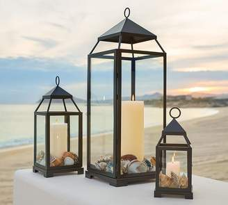 Pottery Barn Malta Lantern - Bronze finish
