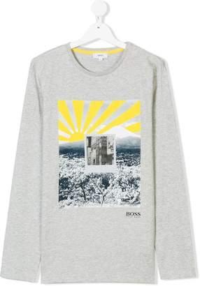 Polaroid Boss Kids print T-shirt