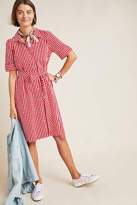 Maeve Kiana Striped Shirtdress