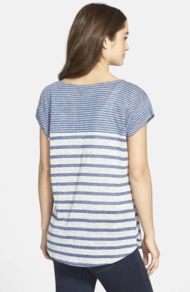 Tommy Bahama 'Chopala' Stripe Linen Jersey Tee 2