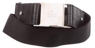 Gucci Woven Buckle Belt Black Woven Buckle Belt