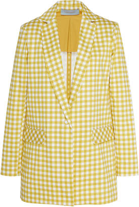 Silvia Tcherassi Gingham-Patterned Gayane Cotton Blazer
