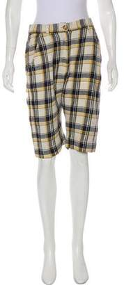 Etoile Isabel Marant High-Rise Knee-length Shorts w/ Tags