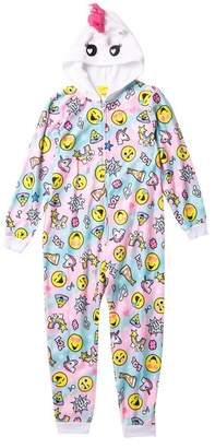 Komar Emojination Hooded Blanket Sleeper (Little Girls   Big Girls) 1805b246e