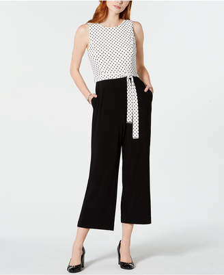 Tommy Hilfiger Dotted Cropped Jumpsuit