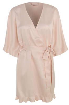 George Pink Team Bride Slogan Dressing Gown