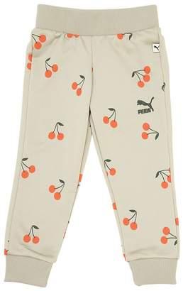 Cherry Printed Cotton Sweatpants