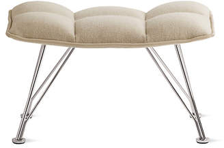 Design Within Reach Jehs and Laub Ottoman, Wire Base
