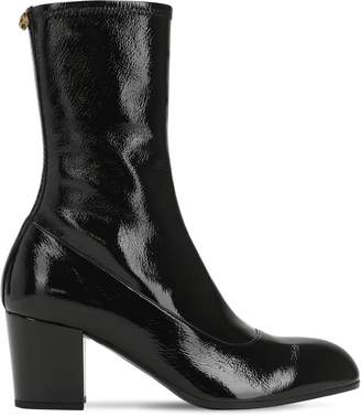 Gucci 75mm Patent Leather Boots
