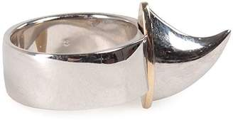 Givenchy Shark Tooth Band Ring