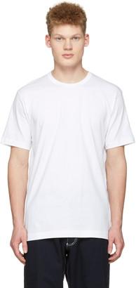 Comme des Garçons Shirt White Back Logo T-Shirt $65 thestylecure.com