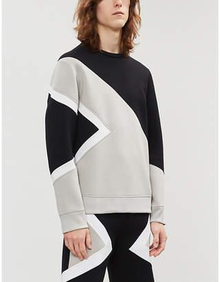 Neil Barrett Modernist printed jersey sweatshirt