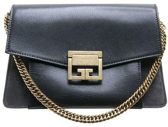 Givenchy Gv3 Small Leather And Suede Bag