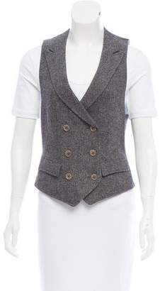 Boy By Band Of Outsiders Double-Breasted Wool Vest