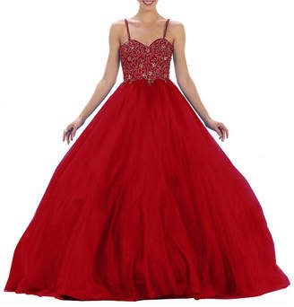 Asstd National Brand Formal Beaded Ball Gown - Juniors