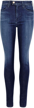Replay Indigo Touch Skinny Jeans