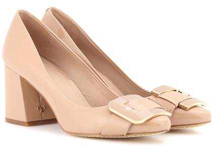 Tory Burch Maria 75 patent leather pumps