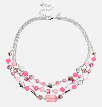 Avenue Floral Bead Layered Necklace