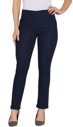 NYDJ Alina Pull-on Ankle Jeans -Rinse