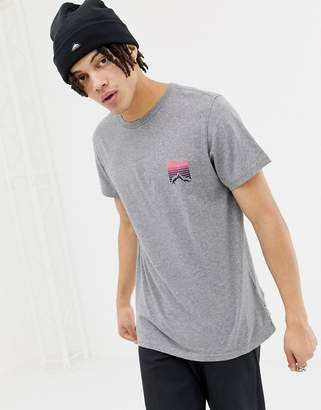 Penfield Caputo back print t-shirt in gray marl