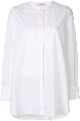Schumacher Dorothee bib front blouse