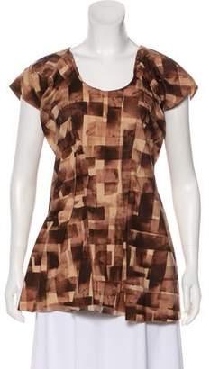 Marni Printed Short Sleeve Tunic