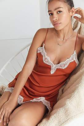 Out From Under Satin Slip Dress