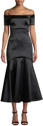 Temperley London Onyx Evening Midi Dress