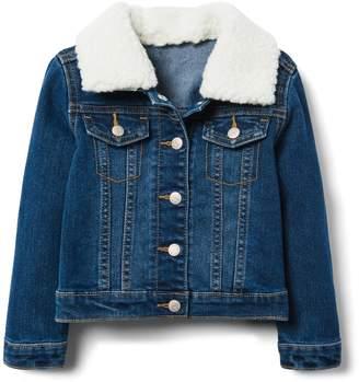 Crazy 8 Crazy8 Toddler Sherpa Denim Jacket