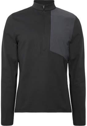 Lululemon Division Stretch-Pique Half-Zip Top - Black