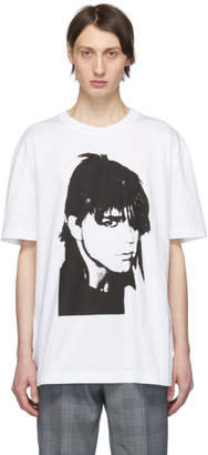 Calvin Klein White Stephen Sprouse T-Shirt