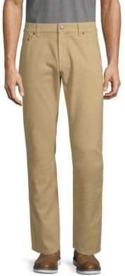 Salvatore Ferragamo Classic Cotton Jeans