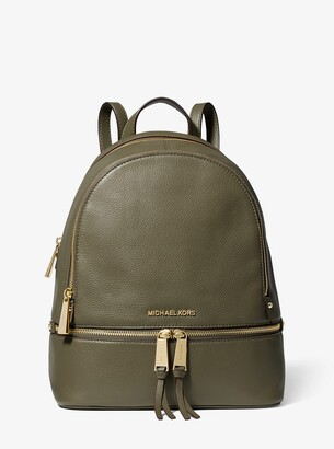 02583e4ce4d43c MICHAEL Michael Kors Green Women's Backpacks - ShopStyle