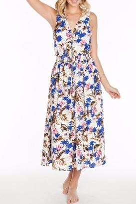 Everly Floral Flare Dress $68 thestylecure.com