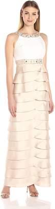 Jessica Howard JessicaHoward Women's Beaded Yoke Gown