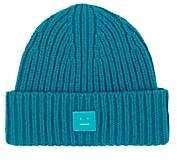 Acne Studios Mini Pansy Wool Beanie-Blue