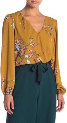 June & Hudson Long Sleeve Smocked Waist Blouse