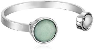 Danielle Nicole Full Moon Amazonite Cuff Bracelet
