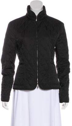 Burberry Quilted Long Sleeve Jacket